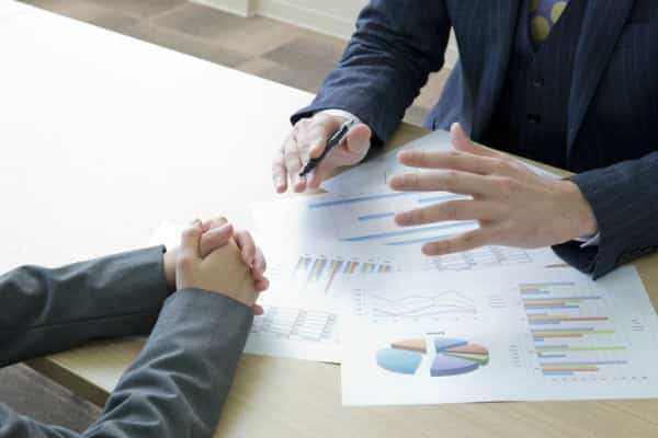 Consult with sales professional about their performance