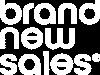 Brand New Sales logo wit